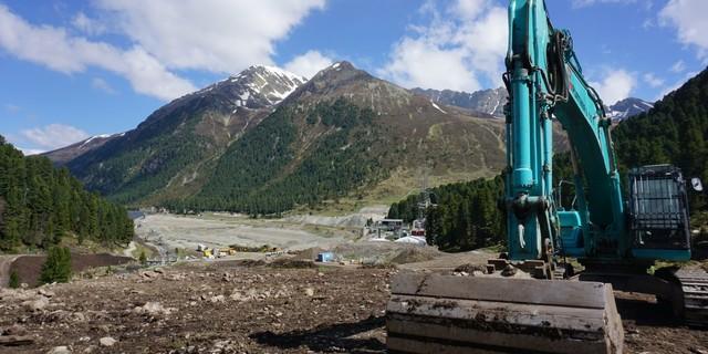 Baubeginn am Taleingang des Längentals (Juni 2020). Foto: Anna Schöpfer
