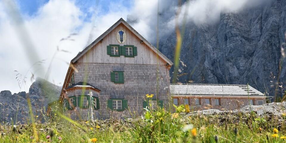 Falkenhütte, Foto: Dominik Sinhart