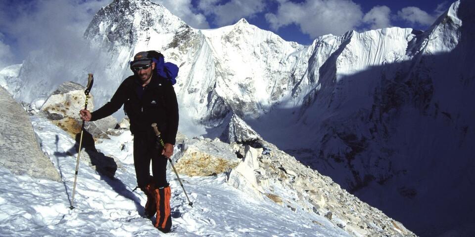 Auf der Abschlussexpedition in der Changabang-Region, Pakistan 2002. Foto: DAV