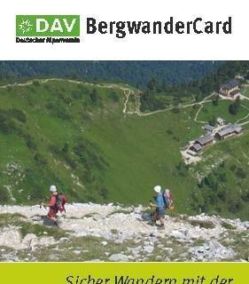BergwanderCard 2012 2