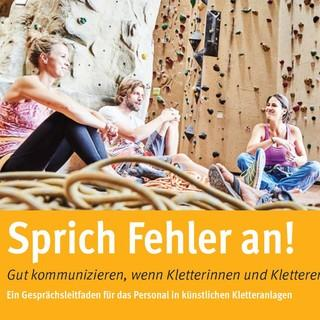 Cover Flyer Sprich Fehler an 2017
