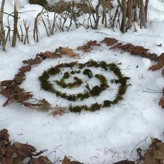 Landart Winter, Foto: Jubi/ Heidi Harder