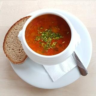Vegane Rote Linsensuppe, Foto: Yvonne Tremml