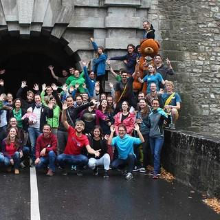 Abschlussbild mit allen Teilnehmer*innen - Foto: JDAV/Simon Keller