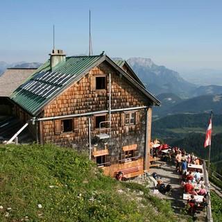 Purtscheller Haus in den Berchtesgadener Alpen, Foto: Sepp König