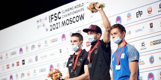 Podium Herren Combined, Foto: Nikita Tsarev