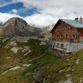Die Marteller Hütte. Foto: AVS