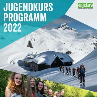 JDAV Jugendkursprogramm-2022 Cover-web