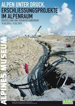 Plakat-Alpen-unter-Druck