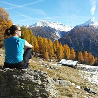 Der Herbst gehört zu den schönsten Wanderzeiten; Foto: Jonas Kassner