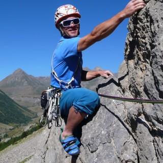 """Im Klettergebiet """"Chemin du Roy"""", Foto: Alix von Melle"""