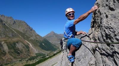 Klettersteig Quarzit Wand : Klettern im tal der durance panorama magazin services
