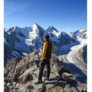 Die Viertausender Obergabelhorn und Matterhorn vom Besso aus gesehen, Foto: DAV/Bernd Jung