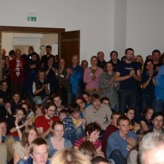 Es waren richtig viele Leute da!