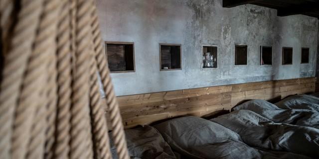 Matratzenlager in der Alten Prager Hütte, Foto: Fabian Dalpiaz