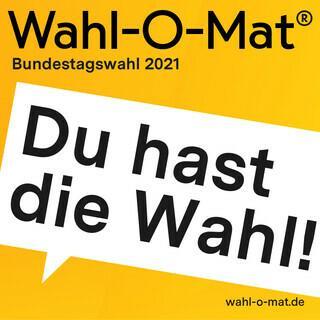 Logo des Wahl-O-Mat der Bundeszentrale für politische Bildung, Bild: bpb