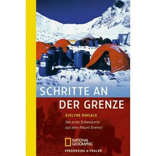 Buchcover Frau Bergsteigen: Schritte an der Grenze