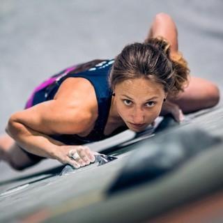 Monika Retschy ist zum dritten Mal Deutsche Meisterin im Bouldern