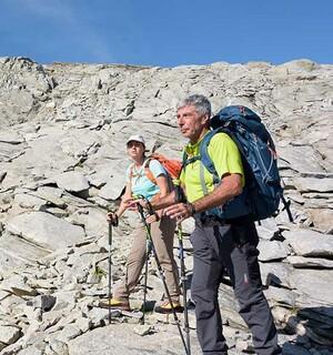 Steinreich sind die Tessiner Berge, etwa unter dem Poncione di Braga. Foto: Folkert Lenz