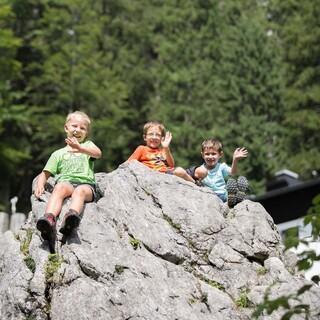 Kinder im Gebirge  DAV JensKlatt