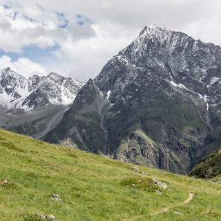 Blick zurück Richtung Ötztal, Foto: DAV/Oliver Guse