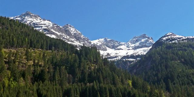 Blick aus dem Hornbachtal