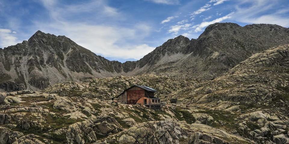 Das Refugi de Colomina ist ein wichtiger Stützpunkt im Süden des Nationalparks, oberhalb des Vall Fosca. Foto: Annika Müller