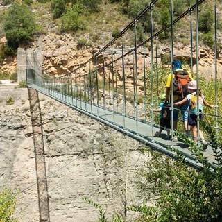 Brücke über der Schlucht von Mont-Rebei, Foto: Katalonien Tourismus