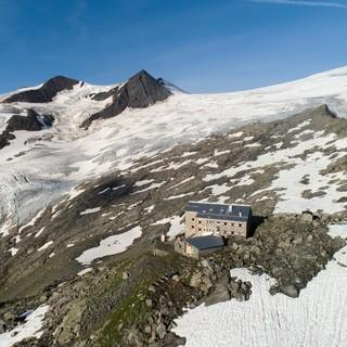 Die Neue Prager Hütte in der Venediger-Gruppe, Fotocredit: DAV/ Jens Klatt