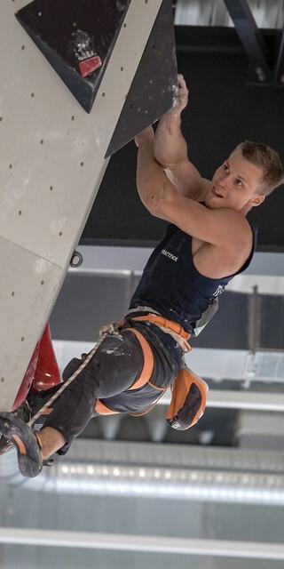 Doppelsieger Chris Hanke; Foto: DAV/Pavel Vekla
