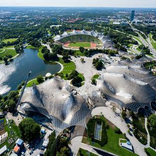 Der Olympiapark München; Foto: Monacoshots