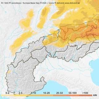 Bergwetter-Schneelayer