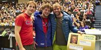 Den Goldenen Jugendleiterausweis gab es in diesem Jahr für Mimi Lihs. Foto: JDAV/Ben Spengler