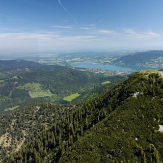 Hirschberg aus der Luft, Foto: Alpenregion Tegernsee Schliesee