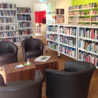 Der neue Lesesaal der Bibliothek des DAV