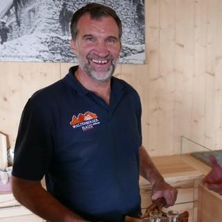 Engagierter Hüttenwirt: Markus Karlinger vom Waltenberger-Haus, Foto: Rainer Guse