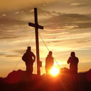 Sonnenuntergang am Gipfel, Foto: Jubi/ Nick Engels