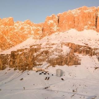 """Der geplante 5-stöckige """"Touch the Dolomites"""" (Foto: hpv)"""