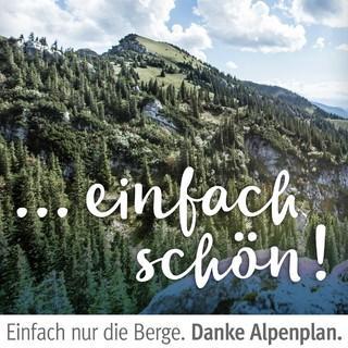 "Kampagne ""Danke Alpenplan"". Rotwand. Foto: hansiheckmair.com"