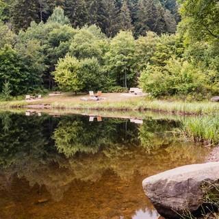 Gemütliche Rastplätze am Sankenbachsee, Foto: Stefan Kuhn Photography