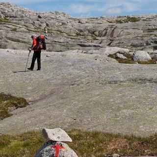 Wunderbare Wildnis – weglos, wie oft in Norwegen, aber ausreichend markiert. Foto: Antes & Antes