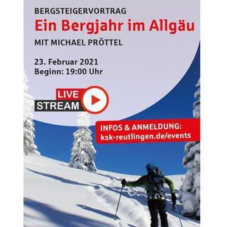 Bergsteigervortrag der Sektion Reutlingen, Foto: Sektion Reutlingen