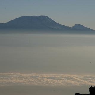 Dunstglocke-Kilimandscharo