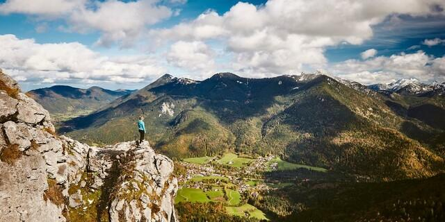 Ausblick auf Kreuth, Foto: Tegernsee Tourismus/Urs Golling