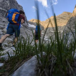 Bergsteigen im Blaueiskar, Berchtesgadener Alpen (Foto: Wolfgang Ehn)