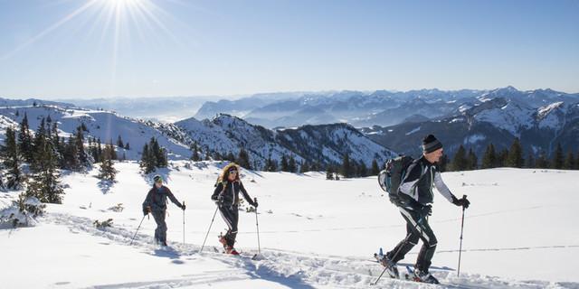 Parade-Skitour auf den Geigelstein - von beiden Gemeinden erreichbar (Foto: publicdesign-fotografie.de)