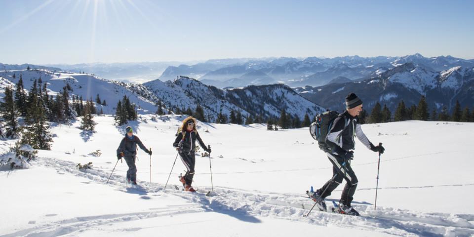 Skitour auf den Geigelstein. Foto: Fotografie-Vordermeier.de