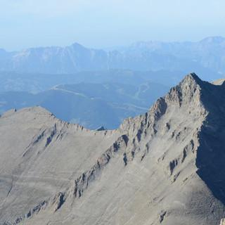 Blick zum Hohen Tenn - Blick vom Wiesbachhorn zum Hohen Tenn&#x3B; hinten Breithorn und Watzmann