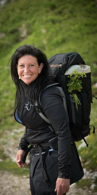 """""""Die Alpen sind eine hervorragendes Ökosystem für viele seltene Pflanzen."""" Foto: Astrid Süßmuth"""
