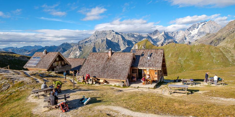 Gut aber auch, dass es hier so viele gastliche Hütten gibt: Refuge de la Valette. Foto: Iris Kürschner